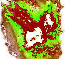 Radioactive SPACE! Phoenix Alien by Followthedon