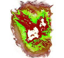 Radioactive SPACE! Phoenix Alien Photographic Print