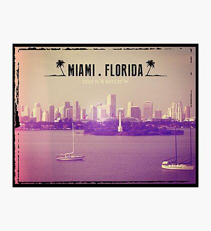 Miami Florida Photographic Print