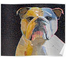 """It's a bulldog"" Poster"