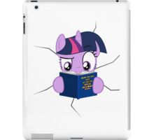 Twilight Sparkle stuck iPad Case/Skin