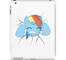 Rainbow Dash stuck iPad Case/Skin