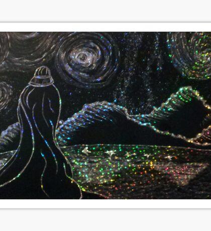 Vader Starry Night Sticker