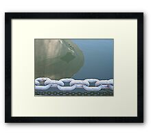 reflections in the water n°2 Framed Print