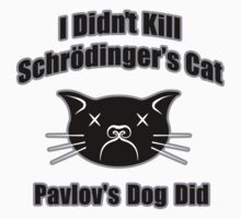 I Didn't Kill Schrödinger's Cat by davidkyte