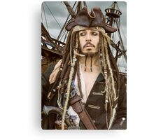 Captain Jack Sparrow  Canvas Print
