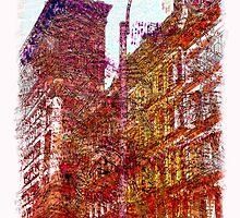 Greene St, Soho, NYC by icoNYC