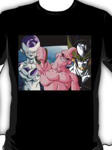 Dragonball Z Frieza, Majin Buu & Cell T-Shirt