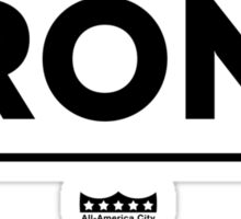 The Bronx Shirt Sticker