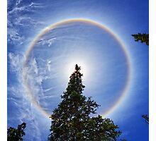 Cirrus Solar Halo Photographic Print