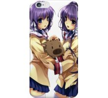 Clannad - Ryou and Kyou iPhone Case/Skin