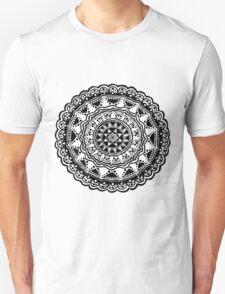 Black and white Mandala 1. T-Shirt