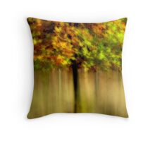 Autumnal Tree Throw Pillow