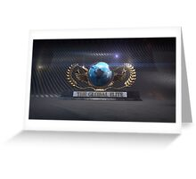 Global Elite Logo Greeting Card