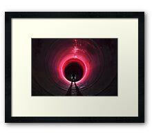 Tunnel Envy Framed Print