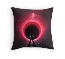 Tunnel Envy Throw Pillow