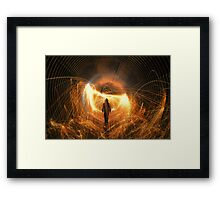 Walk With Me In Hell Framed Print