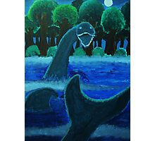 The Loch Ness Monster Photographic Print