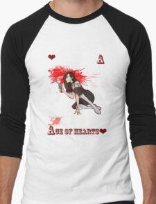 Ace of Hearts Men's Baseball ¾ T-Shirt