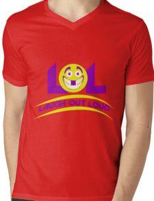 Laugh Out Loud (LOL) Mens V-Neck T-Shirt