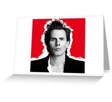 John Taylor Duran Duran Greeting Card