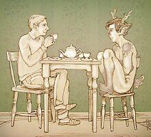 Breakfast Tea by threadear