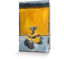 Wall-E Greeting Card