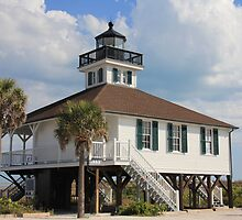 Boca Grande Lighthouse by Rosalie Scanlon