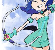 Magical Girl Collection #9 - Mint Blue by gcio