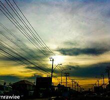 I love your street world, Miss Bangkok...Got Featured Work by Kornrawiee