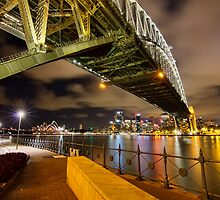 Under the Sydney Harbour Bridge by renekisselbach