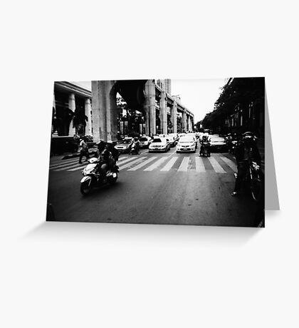 Bangkok Jam - Lomo Greeting Card
