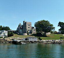 Beechbound, a Scottish baronial castle, Newport Rhode Island  by Jane Neill-Hancock