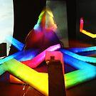 Rainbow Octopus vs Big Wheel - Lomo by Yao Liang Chua