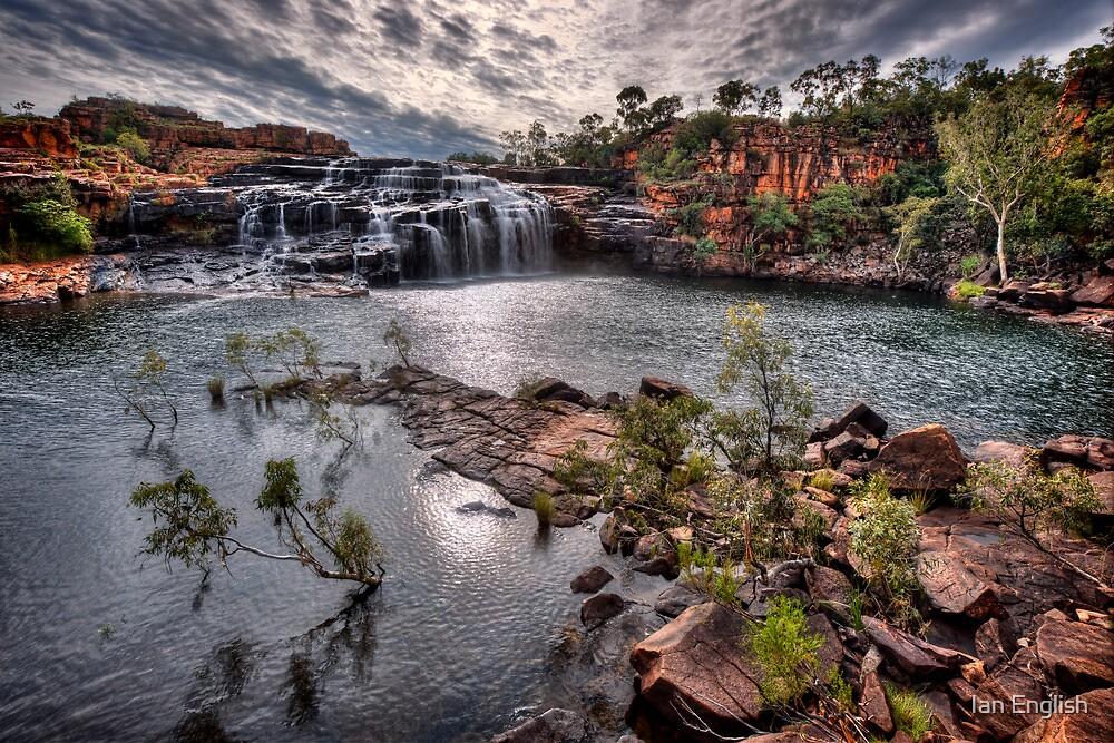 Manning Gorge Falls - Kimberley WA by Ian English