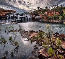 Manning Gorge Falls - Kimberley WA by Ian English