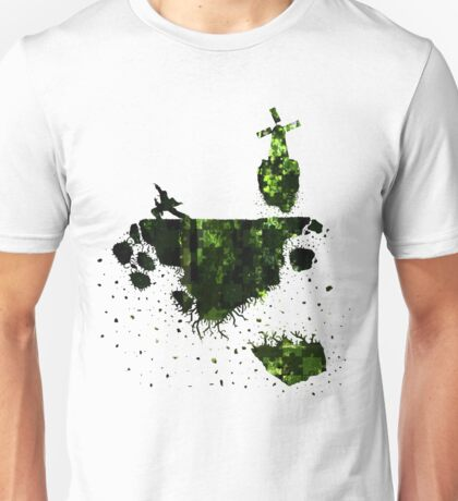 floating earth Unisex T-Shirt