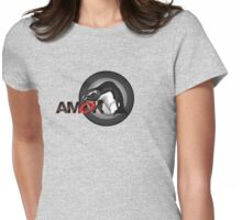 A M O K - pengu.i.an  Womens Fitted T-Shirt