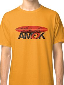 AMOK - tribal wave surfboard Classic T-Shirt