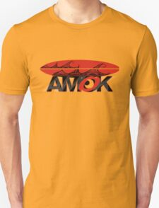 AMOK - tribal wave surfboard T-Shirt