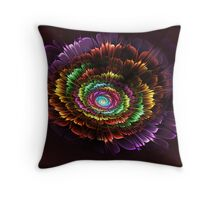 Carnation Delights Throw Pillow