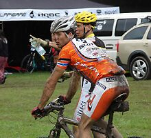Mladá Boleslav TOUR CZ - racing mountain bikes III. / muddy shower by Natas
