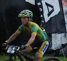Mladá Boleslav TOUR CZ - racing mountain bikes V. / woman on a bicycle is no exception by Natas