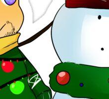 Barry Sticker [Christmas] Sticker