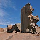 Remarkable Rocks, Kangaroo Island by roger smith