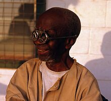 Sierra Leone - Man With Glasses (1970) by GShunk