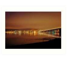 Reflections - Dundee, Scotland Art Print
