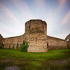 Pevensey castle by willgudgeon