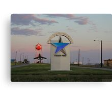 Sunrise at North Texas Regional Airport Canvas Print