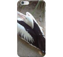 Pelican Resting iPhone Case/Skin